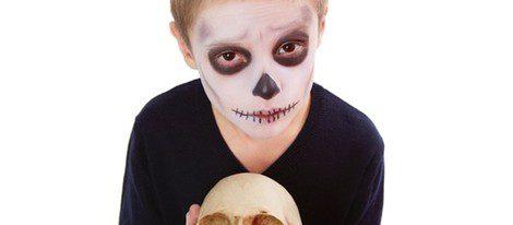 El disfraz de calabera es uno de los preferidos entre los niños
