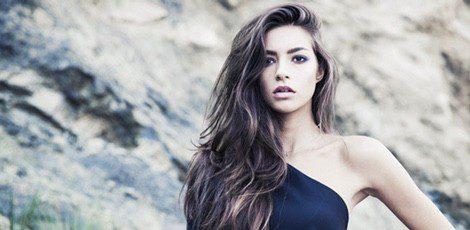 Rocío Herrera, hija de Mariló Montero, da sus primeros pasos como modelo