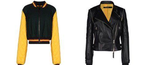 Cazadoras de la colección diseñada por Cara delevingne para DKNY