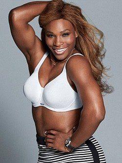 Serena Williams, nueva imagen de la firma de lencería Berlei