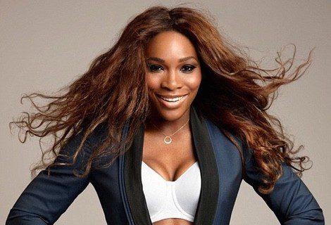 Serena Williams luciendo uno de los sujetadores deportivos de Berlei