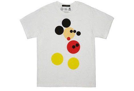 Marc Jacobs y Damien Hirst se inspiran en Mickey Mouse para crear dos modelos de camisetas benéficas