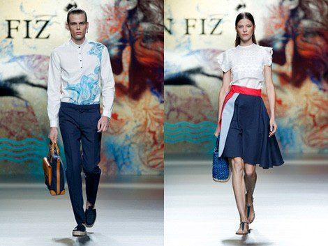 Ion Fiz en Madrid Fashion Week primavera/verano 2015