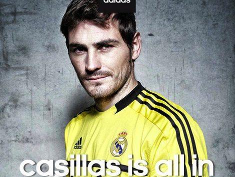 Iker Casillas se estrena como nueva imagen de Adidas