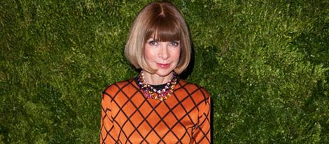 Anna Wintour, editora de la revista Vogue