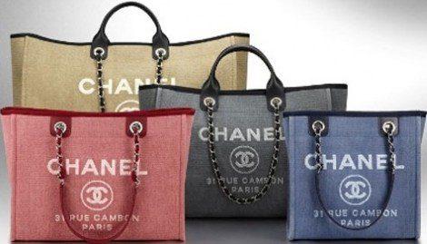 Variedades del shopping bag de Chanel para este verano