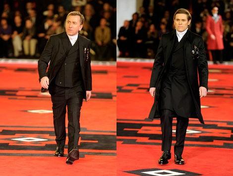Willem Dafoe y Tim Roth desfilan para Prada