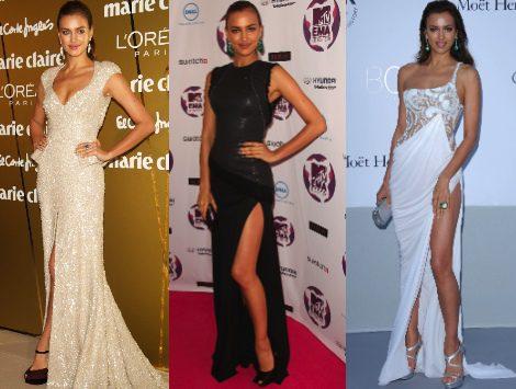 El estilo de Irina Shayk: exuberante de gala y sencilla de día