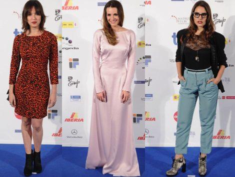 Elena Anaya, Aída Folch y Alicia Sanz destacan como las mejor vestidas de los premios José María Forqué 2012