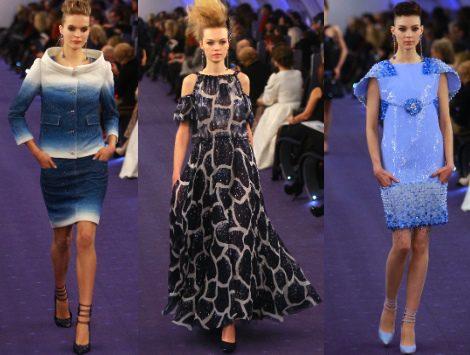 Bienvenidos al vuelo de Alta Costura que Karl Lagerfeld ha creado para Chanel