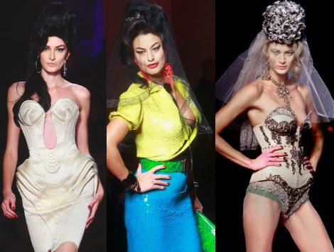 Jean Paul Gaultier homenajea a Amy Winehouse en su colección P/V 2012 de Alta Costura