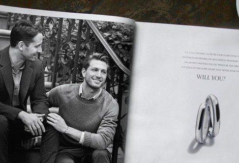 La firma joyera Tiffany & Co. presenta una nueva colección de compromiso tomando a las parejas del mismo sexo como protagonistas