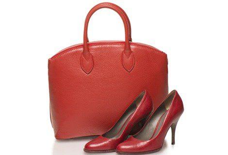 Rojo en los accesorios