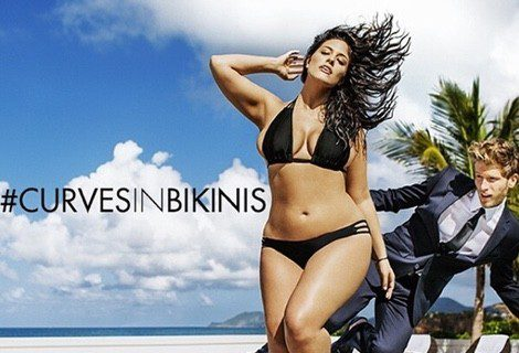 Ashley Graham paseará sus curvas en el nuevo spot de verano de Swimsuits For All
