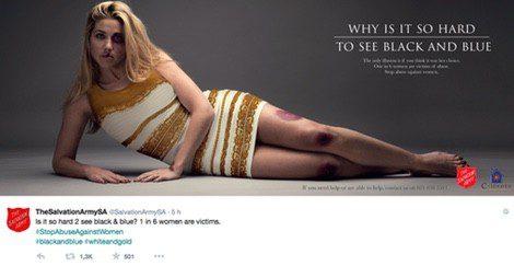 The Dress contra la violencia de género / Twitter