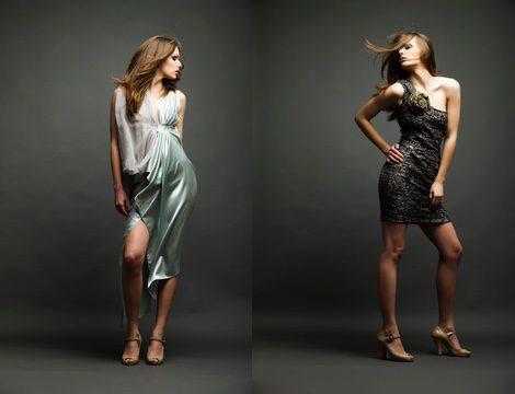 También puedes optar por un vestido de cóctel con complementos para la boda de tarde