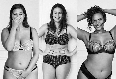 Ashley Graham, Marquita Pring y Candice Huffine haciendo honor a su figura en la nueva campaña de Lane Bryant