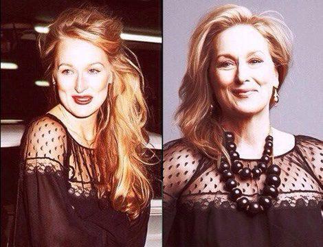 Antes y después: Meryl Streep en 1979 y en 2009