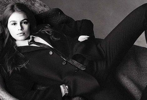 Kaia Gerber debuta como modelo protagonizando su primer editorial en Vogue Italia | Cindy Crawford Instagram