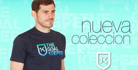 Iker Casillas lanza su nueva colección de 1K