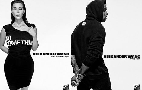 El matrimonio West-Kardashian en la campaña de Alexander Wang para Do Something