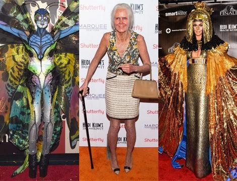Heidi Klum en sus fiestas de Halloween de 2014, 2013 y 2012