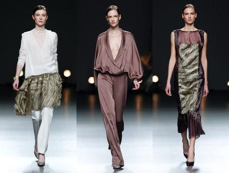 Duyos sorprende con una colección elegante y vanguardista para el otoño/invierno 2012/2013 en la MBFWMadrid