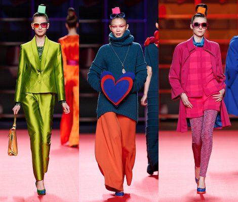 Ágatha Ruiz de la Prada llena de corazones y color la pasarela de la Fashion Week Madrid
