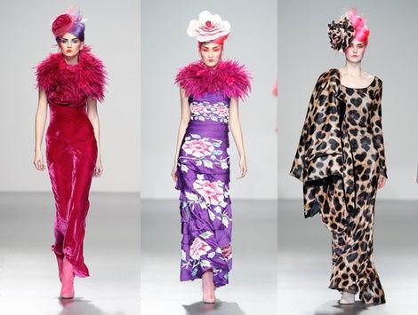 Elisa Palomino recuerda la primavera en su colección otoño/invierno 2012/2013 para Fashion Week Madrid