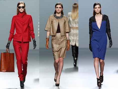 Las 'working girls' de Robertto Torreta pisan fuerte sobre la pasarela de Fashion Week Madrid