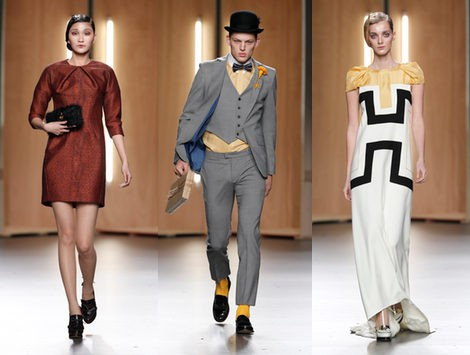 Pasado y futuro de la mano con Ana Locking en la Madrid Fashion Week