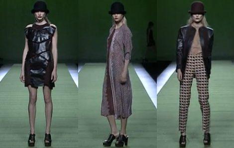 Diseños de Martin Lamothe en Madrid Fashion Week, colecciones otoño 2011