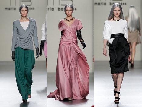 Maria Barros reinventa lo clásico en la Fashion Week Madrid