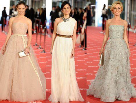 Michelle Jenner, Elena Anaya y Cayetana Guillén Cuervo entre las mejor vestidas en los Premios Goya 2012