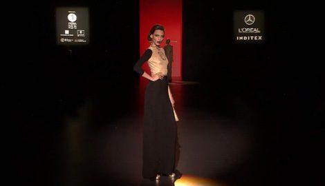 Vestidos como protagonistas de la colección de Hannibal Laguna