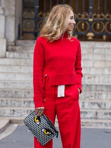 El rojo es un color demasiado llamativo