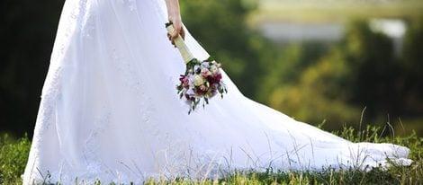 Hay que escoger el largo perfecto de la cola del vestido