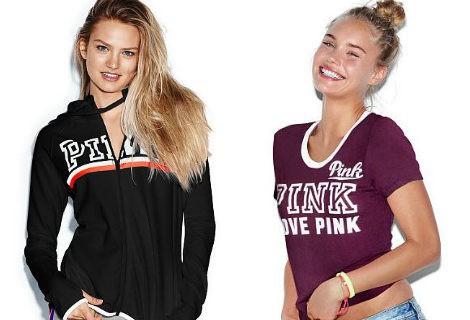 'Pink' como la seña de identificación de las nuevas prendas deportivas de Victoria's Secret