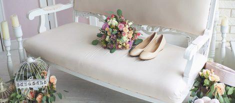 Los tonos pasteles el día de tu boda son un buen resultado