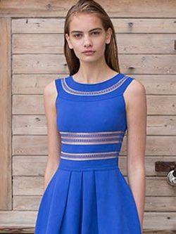 Vestido de la primavera/verano 2016 de Vicedomini