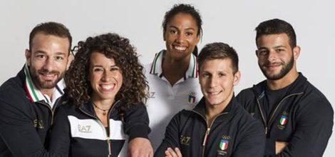 Uniforme Armani para el Equipo olímpico Italiano 2012