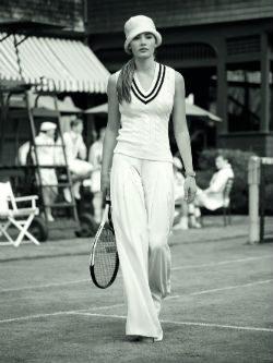 PLos jerséis de punto brillarán en Wimbledon