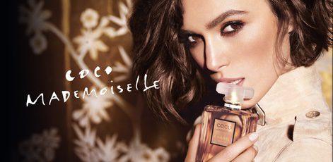 Keira Knightley para el anuncio de Coco Mademoiselle