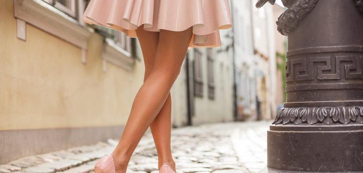 El color pastel es ideal para resaltar tu piel bronceada