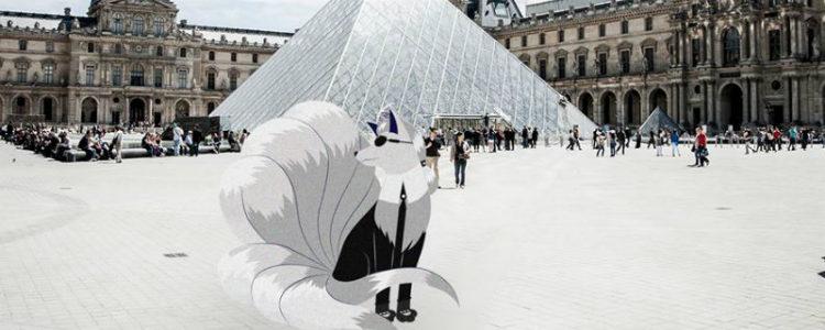 Karl Lagerfeld toma el cuerpo del pokémon Ninetales para dar forma a Karl Lagertales