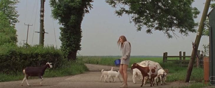 Imagen de la campaña eco-friendly de Stella McCartney renunciando al uso de cachemira natural