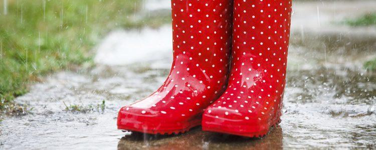 Cuando no llueve no hay que utilizar botas de agua