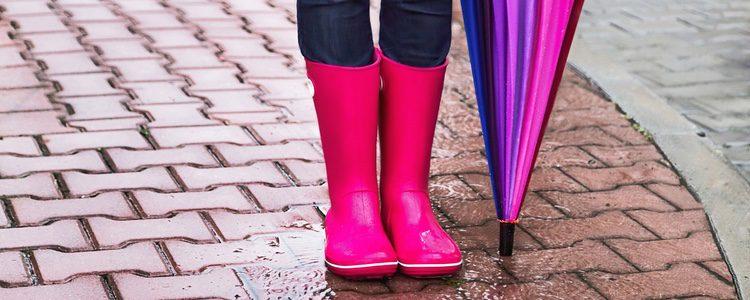 Hay que llevar las botas de agua cuando el tiempo meteorológico lo permita