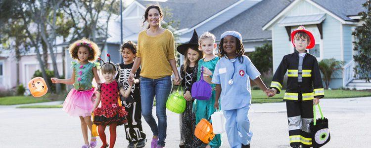 Hay que dejar que los niños elijan el disfraz que más les guste
