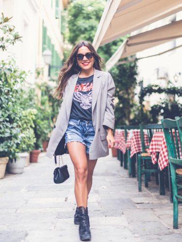 Paula Ordovás con un look rockero chic | Mypeeptoes.com